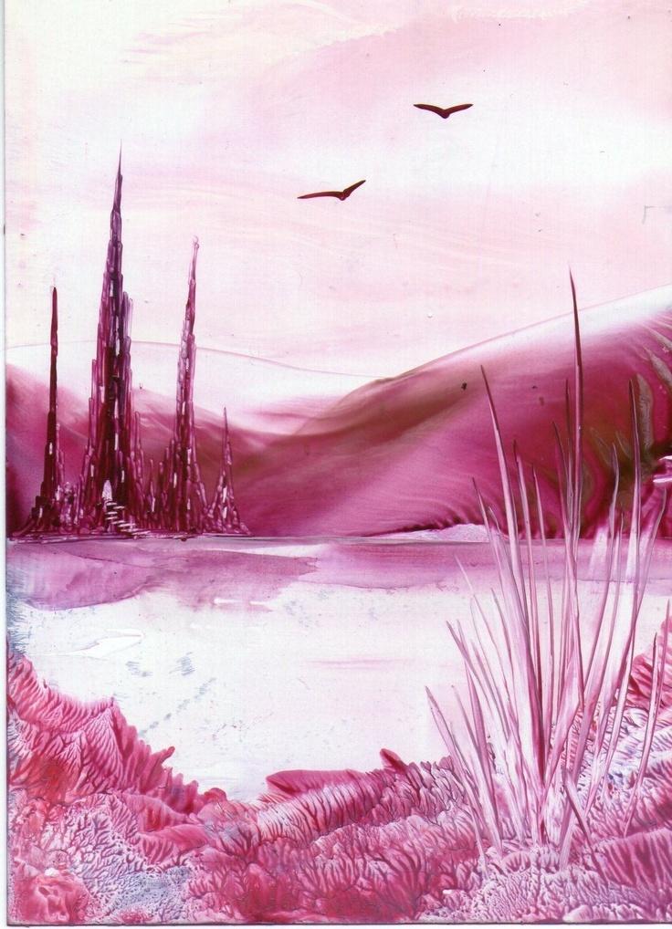 one of my encaustic art paintings