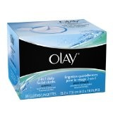 Olay 4-In-1 Daily Facial Cloths ? Sensitive 33 Count (Pack of 2)