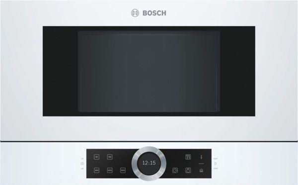 Kuchenka mikrofalowa Bosch BFL634GW1  - zdjęcie 1