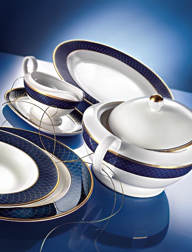 ZEPTER Masterpiece Collection Porcelain - Cobalt Royal