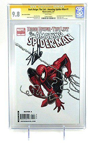 Stan Lee Autographed/Signed Dark Reign Amazing Spider-Man #1 1:100 CGC 9.8 Marvel @ niftywarehouse.com #NiftyWarehouse #Spiderman #Marvel #ComicBooks #TheAvengers #Avengers #Comics