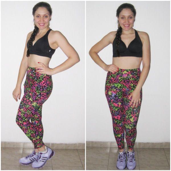 Looks perfeitod para arrasar nos seus treinos! Look disponível na nossa loja virtual! www.lojachicboom.com.br #boramalhar #treino #academia #fitness #lookfitness #topcombojo #bojo #top #leggingcomsaia #saia #legging #neon #estampa #animalprint #onça #oncinha #pink #rosa #flúor #look #chic