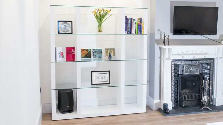 Do you want to make a large statement in your home? Then the Aria White Oak and Glass Shelving Unit is the way to do it. The white oak veneer body supports the strong tempered safety glass shelves, which give it it's contemporary look. But don't feel restricted as it could also be used as a room divider too!