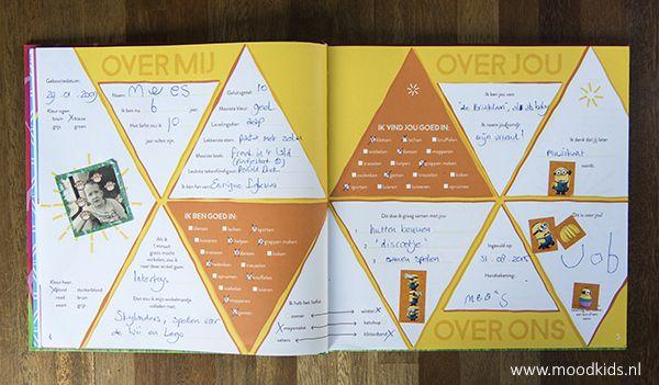Vriendenboekje Vriendenklets! Over jou en over mij | Moodkids