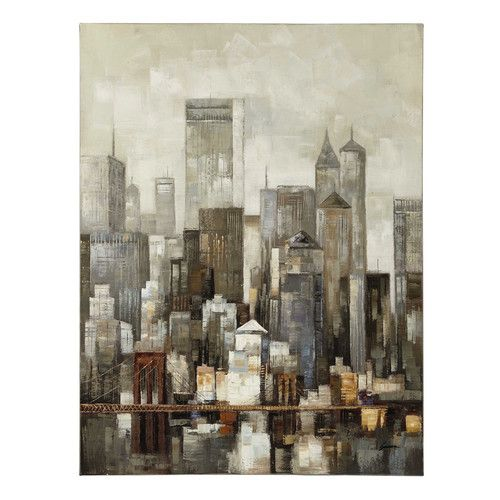 Tela 90 X 120 CM LOWER MANHATTAN