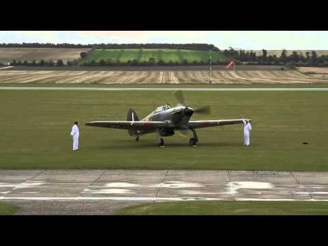 Super-Rare Hawker Hurricane WWII Fighter Takes To The Skies