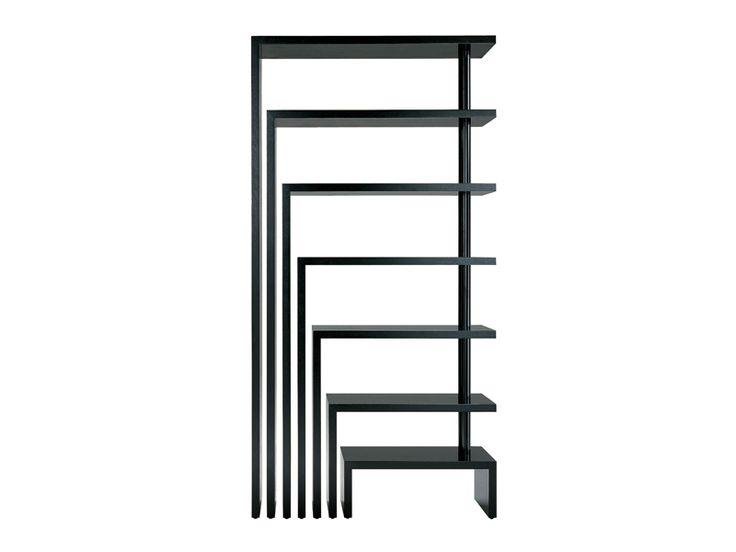 Swivel freestanding bookcase JOY by Zanotta | design Achille Castiglioni