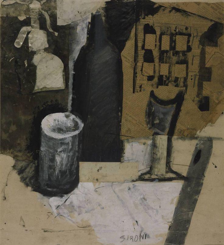 MARIO SIRONI (1885-1961) - The Syphon, 1916
