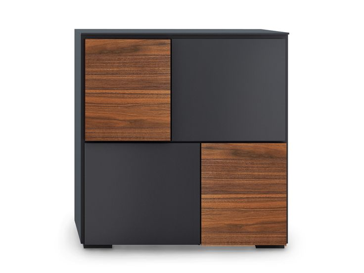 Lacquered wooden highboard LOFT   Highboard - Oliver B.