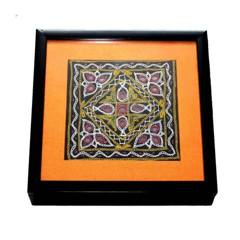 Gujarati Embroidery Wooden Box - FOLKBRIDGE.COM | Buy Gifts. Indian Handicrafts. Home Decorations.