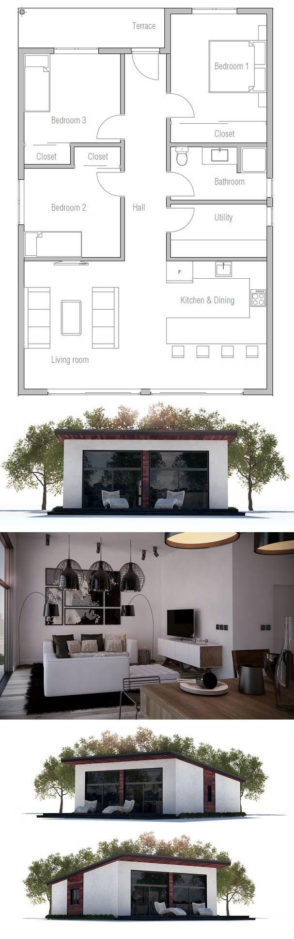 Pi di 25 fantastiche idee su planimetrie di case su for Progetti di townhouse e planimetrie