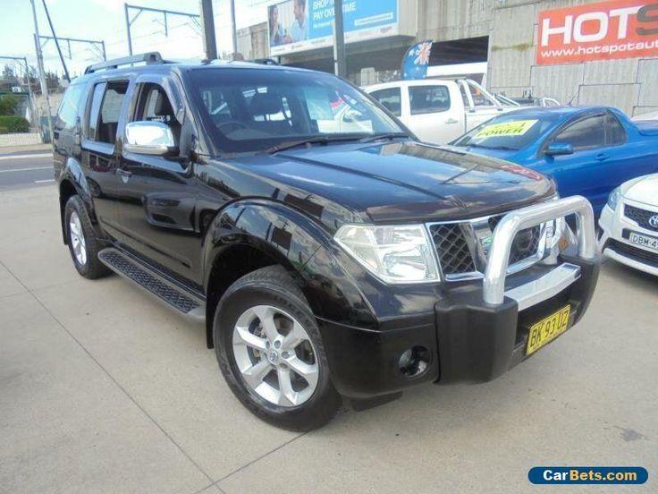 2008 Nissan Pathfinder R51 MY08 TI Black Automatic 5sp A Wagon #nissan #pathfinder #forsale #australia