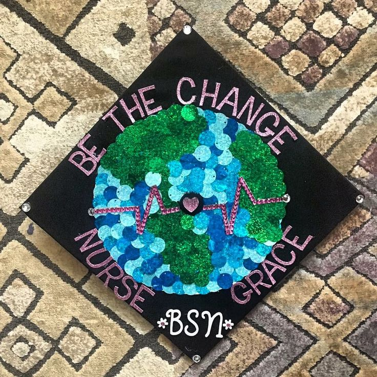 #nursing #graduationcap #classof2017 #graduation #bsn #college #seniors #registerednurse #bethechange #RN #olivet #ekg #world #nurse #michaels #hobbylobby #decoration #graduationcapdesign #change #nursing #oncologynurse #gandhi #quotes