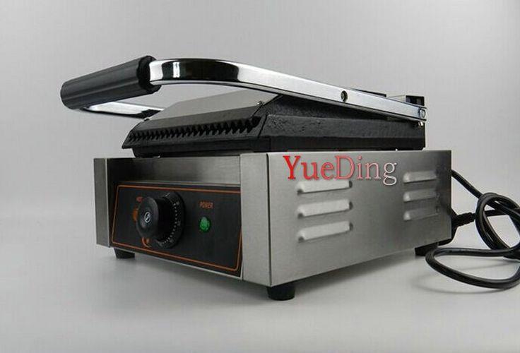 270.00$  Watch now - http://ali0o8.worldwells.pw/go.php?t=32505033530 - Commercial electric sandwich machine / Panini machine / Stripe Italian sandwich machine / contact grill 270.00$