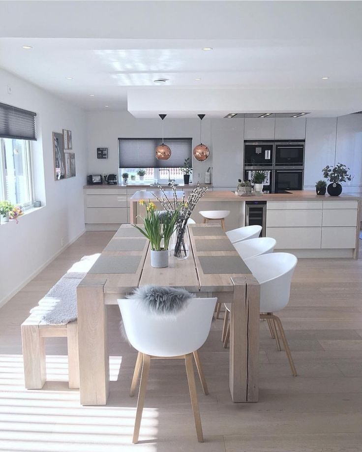 open plan dining area the Beach made out of sanded…