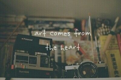 Art comes from the heart ... photos photography love art