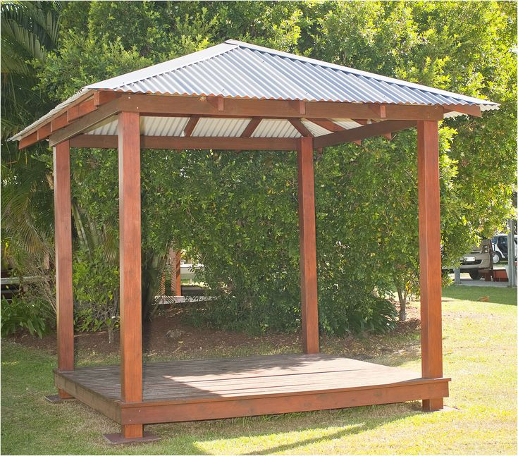 The 25 best gazebo plans ideas on pinterest diy gazebo for Diy hot tub gazebo