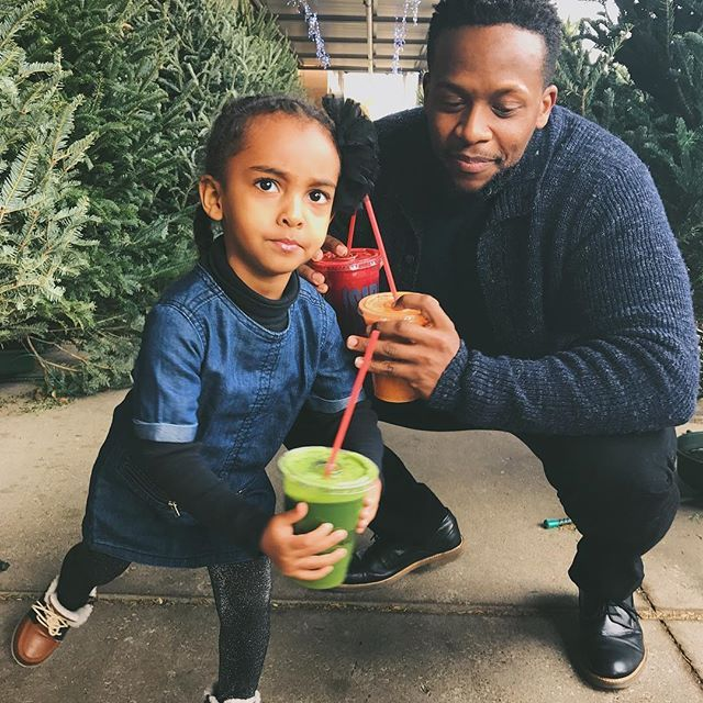 "Double-tap if you know kids keep it real! 😂Today I had the bright idea to get my God-daughter to drink natural juices so I did a taste test with several juices. This was her reaction to the green juice! 😂 Basically her face said - ""you ruined Christmas!"" So I guess it needed more sugar... Tell the truth - how many of us have felt this way after trying something new and ""healthy?"" What are your tips to get kids and picky adults into enjoying more fresh, natural foods? Comment below with…"