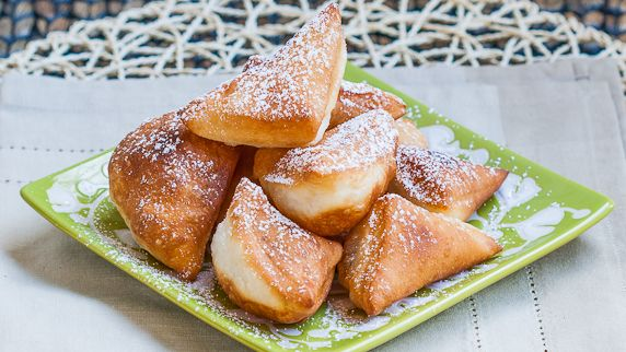 Mandazi / African Donuts Recipe (Jo Cooks), made with coconut milk, cardamom, and cinnamon
