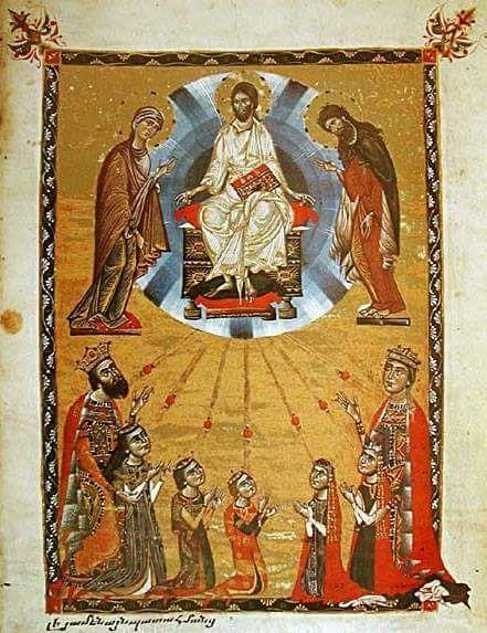Gospel of Queen Keran,1265,Toros Roslin,Armenian Kingdom of Cilicia.