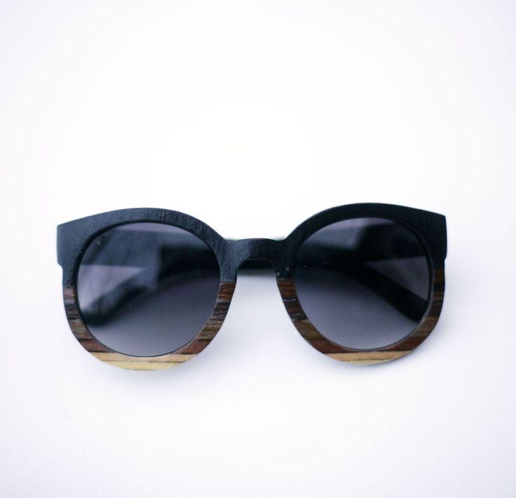 Tumbleweeds Handcraft Ombré Wood Sunglasses, $85.