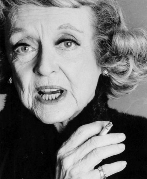 Bette Davis photographed by Francesco Scavullo
