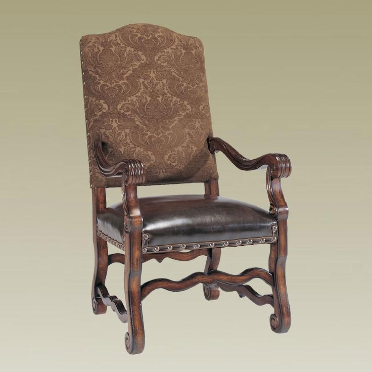 Wonderful Dark Chocolate U0026 Leather Dining Chair