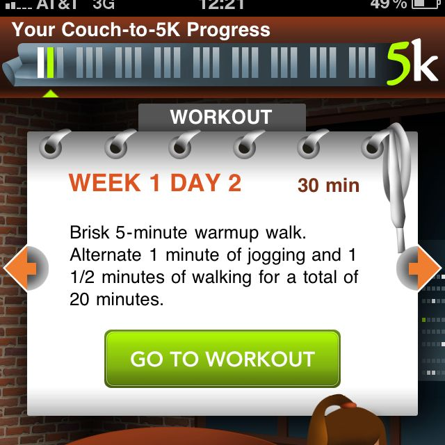 just got the couch 2 5k iphone app... now it's just a matter of actually using it :)