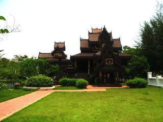 Thailand Fantastic: Wat Chong Khan, Lampang (This model is in the anci...