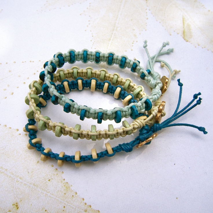 how to make a snake macrame bracelet