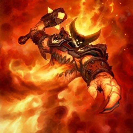Ragnaros Se 241 Or Del Fuego Este Dibujo Fue Realizado Para Hearthstone Ragnaros Lord Of Fire