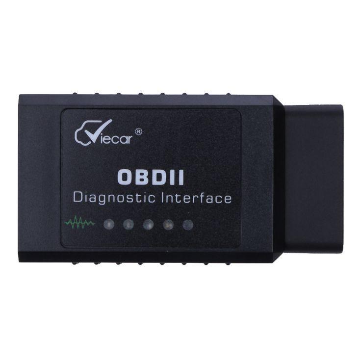 Auto Mini ELM V2.1 ELM327 OBDII Bluetooth ELM 327 OBD2 Mobil OBD ii CAN-BUS Diagnostik Scanner Alat Untuk Android Symbian Windows PC