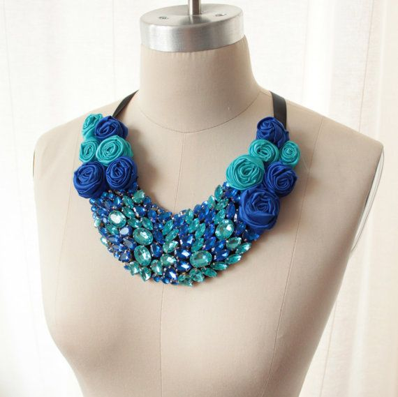 SAMPLE SALE  Reserved  The Diva Rosette por BejewelledBespoke, $179.00