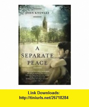envy a separate peace A separate peace revisited: reactions to having hurt an envied other  gene's  envy of finny's natural abilities and charisma—to which the.