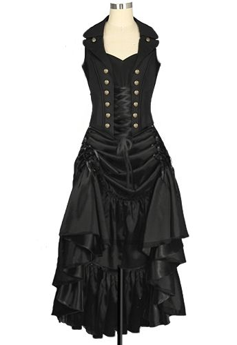 Steampunk Dress Chic Star