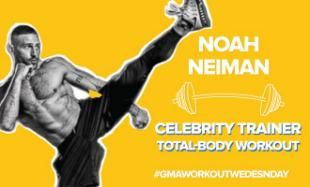 'Workout Wednesday' on 'GMA': Celebrity Trainer Noah Neiman Leads a Live-Stream Workout