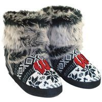 Wisconsin Badgers Women's Knit Bootie