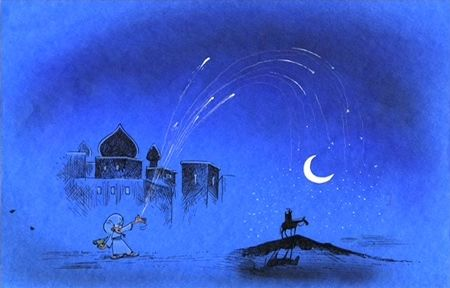 Art from the special edition Aladdin DVD