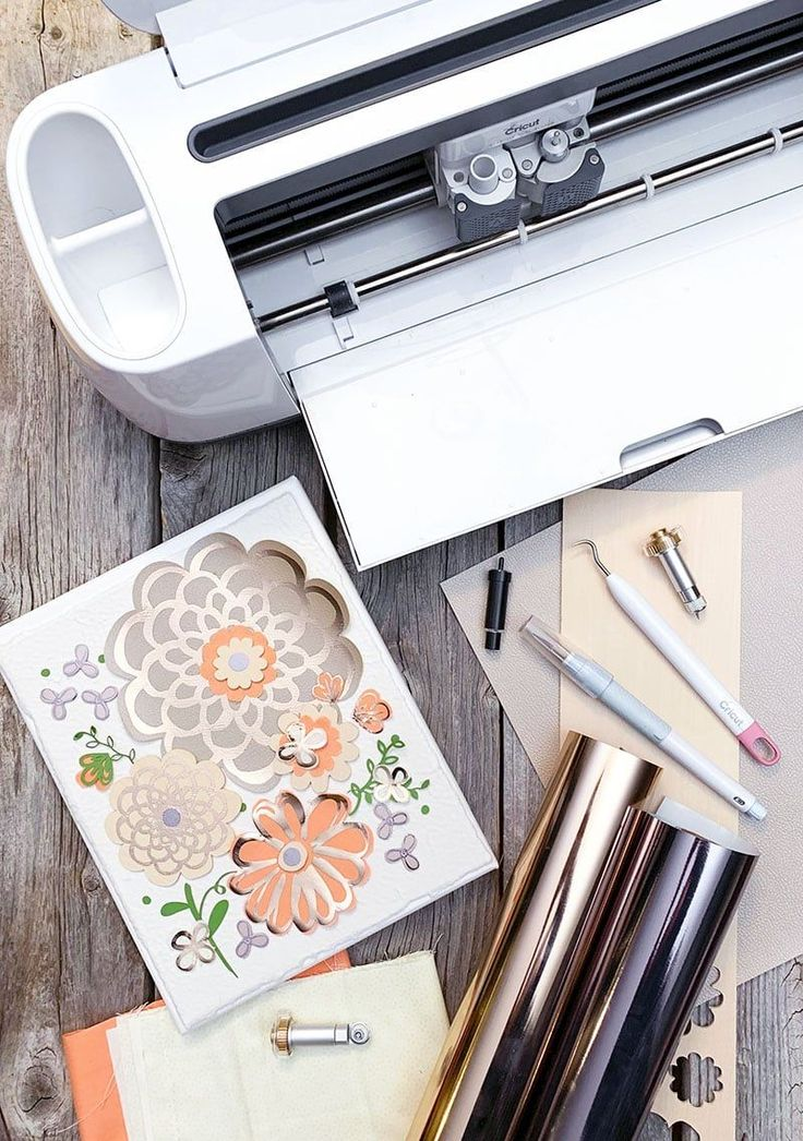 Create mixed media art with your Cricut Maker project