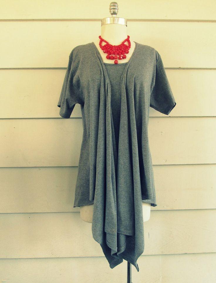Wobisobi: Draped Shirt Vest, DIY
