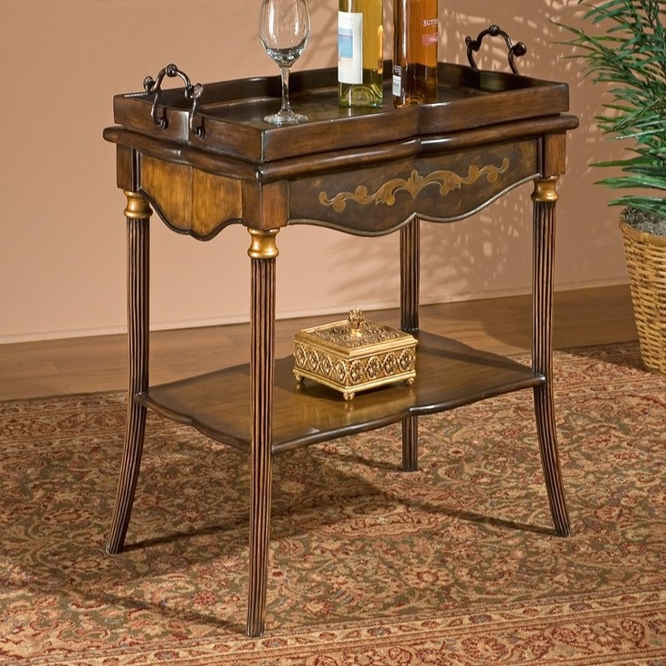 Butler Specialty 1522070 Heritage Tray Table   Home Furniture Showroom