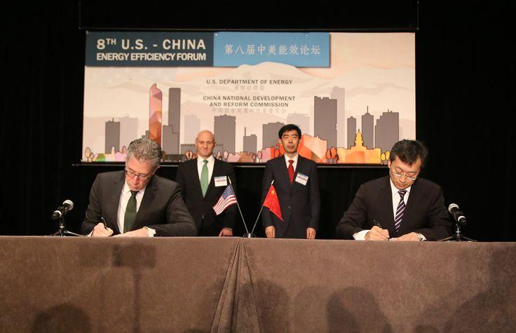 Foton Motor firmó el memorando de cooperación profunda con Cummins en el Foro de Eficiencia Energética de EE.UU.