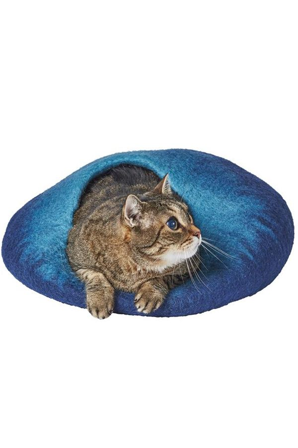 This cat cave will look purrfect in your home.