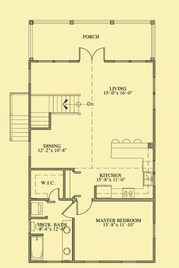 350 best garage apartment plans images on pinterest for Guest apartment floor plans