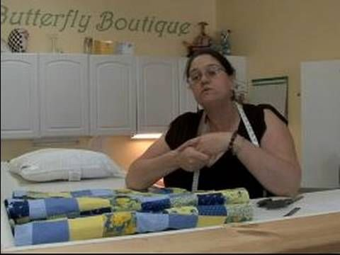 How to Sew a Pillow Case Cover : Picking Material for Homemade Pillow Cases