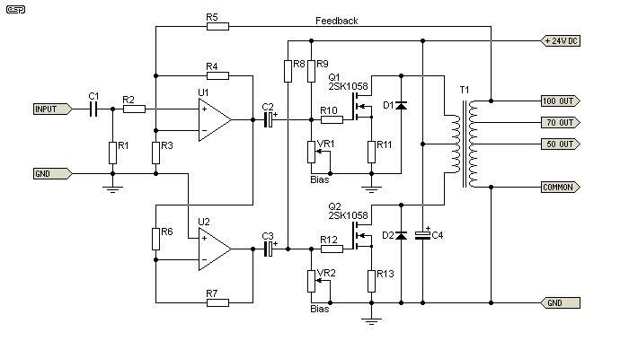 Audio Output Transformer Wiring Diagram