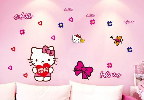 Those wall stickers decor your house simply in mins.  Due to the stickers can sticker any place, the actual Measurement can also be made up our minds in step with consumers design. Simple to use, eliminate and reuse with out leaving harm or residue.   http://hellokitty.us/shop/diy-home-decor-art-hello-kitty-removable-wall-decals-wall-mural-wall-decor-stickers-79
