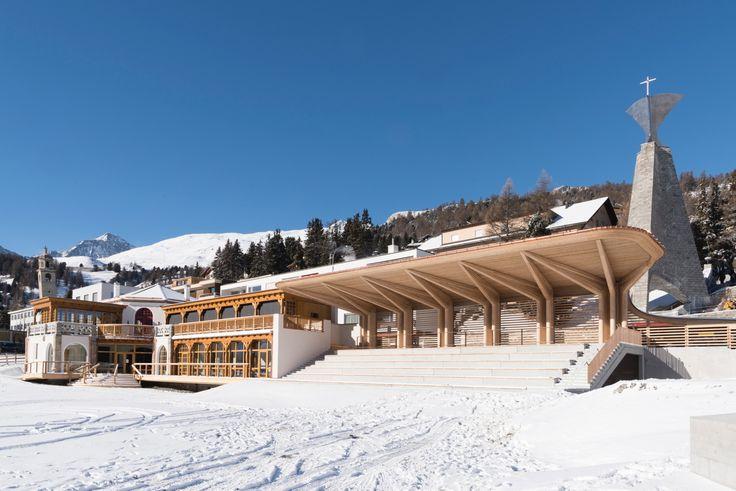 Technisch klar und gediegen - Foster + Partners in St. Moritz
