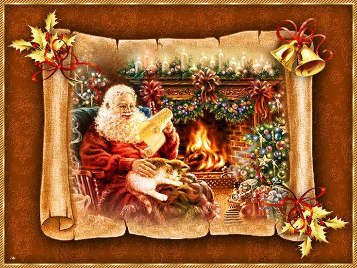 Gify,animacja,obrazki PNG: Kartki świateczne Boże Narodzenie