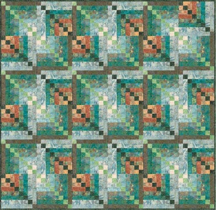 17 best Quilts from Elisa's Backporch Design images on Pinterest ... : hoffman free quilt patterns - Adamdwight.com